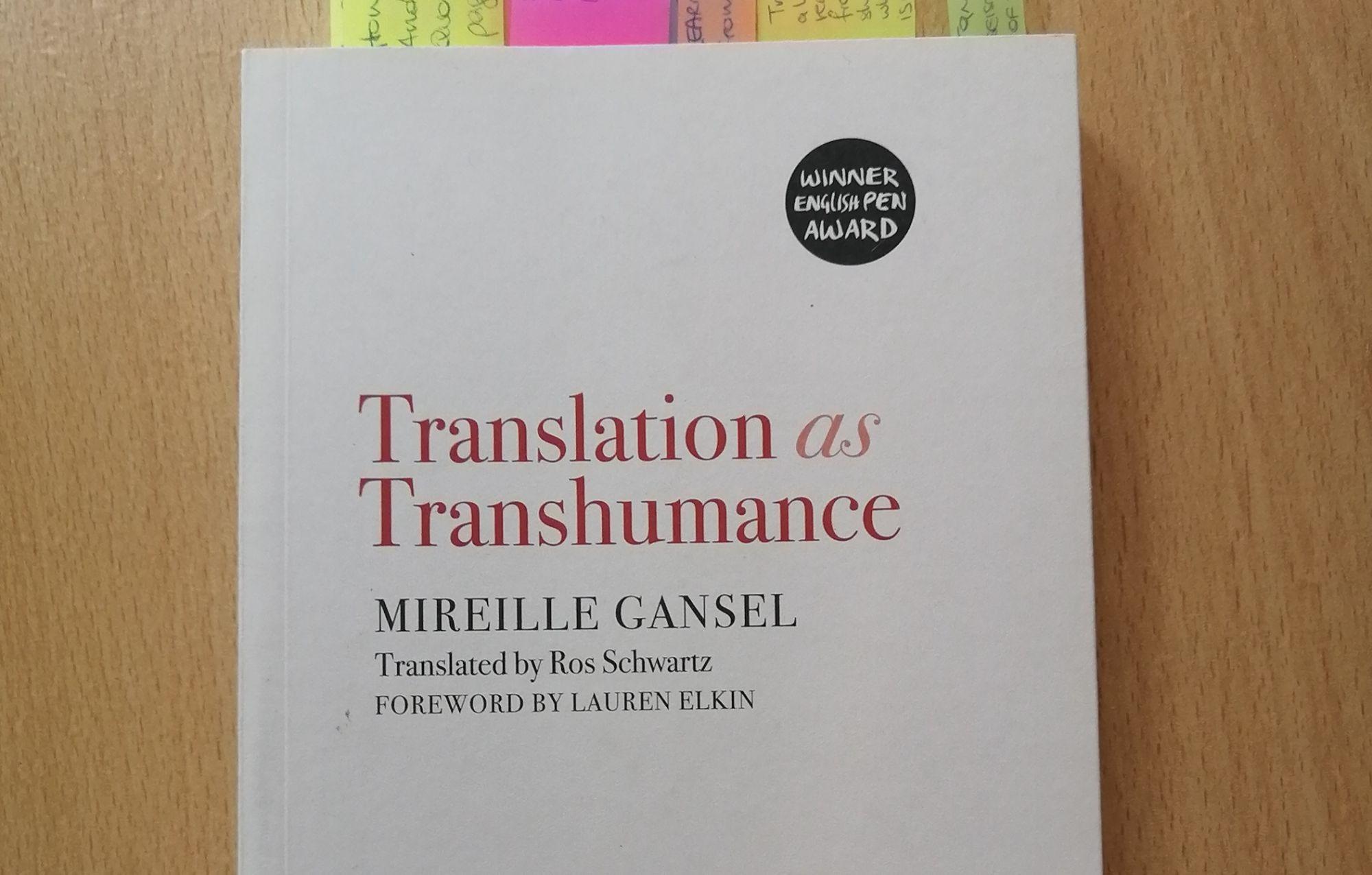 Emma Recensisce: Traduzione come transumanza